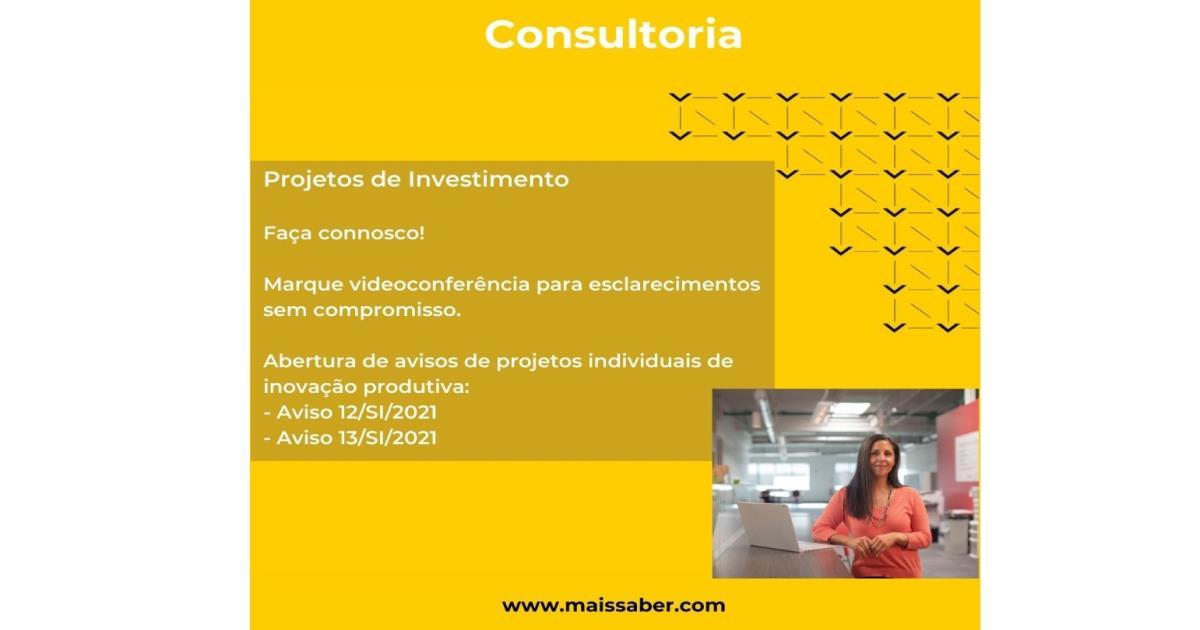 Consultoria - Projetos Investimento