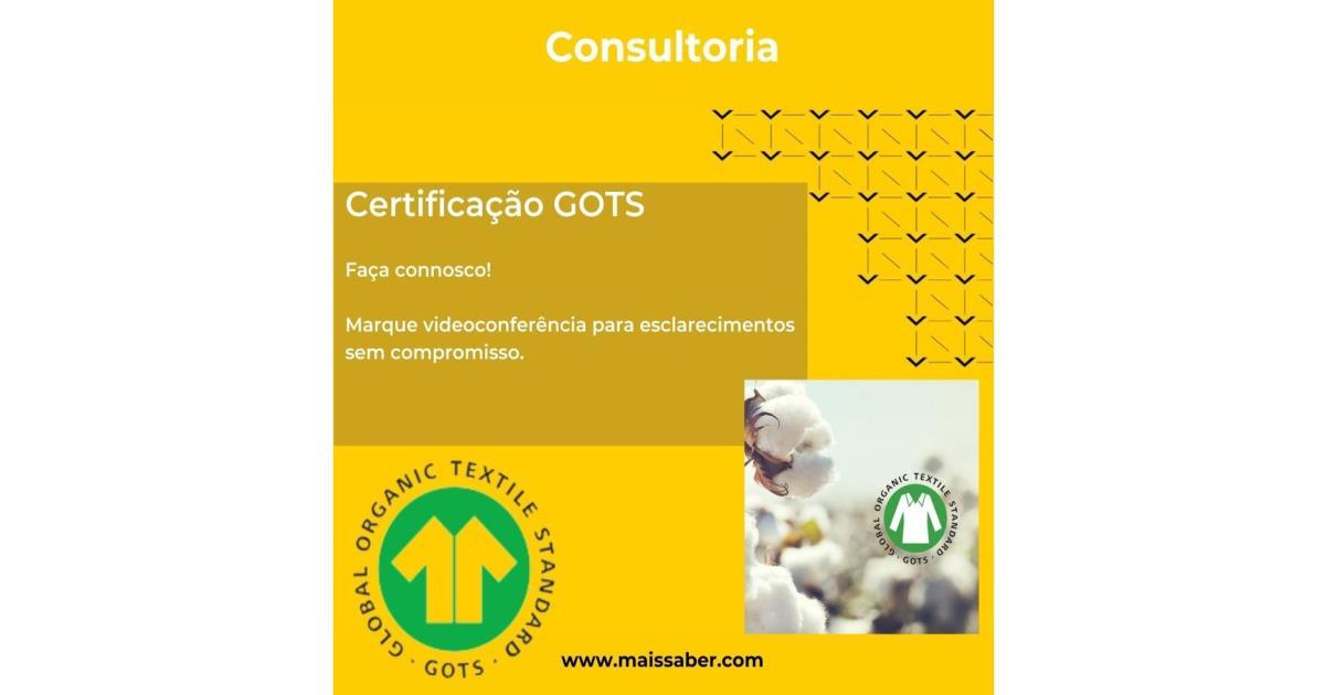 Consultoria - Certificação GOTS